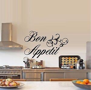 Bon Appetit 4 Wall Decal Kitchen EBay