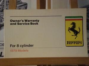 Ferrari-Factory-Original-Warranty-Book-for-8-cylinder-cars