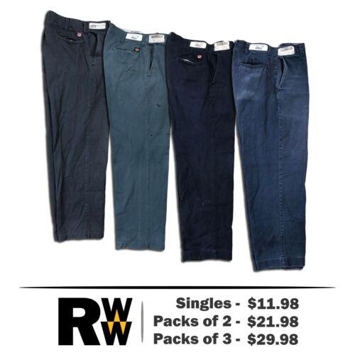 Red Kap Industrial Cotton Pants Work Uniform Dark Colors PC20 SINGLES PACKS