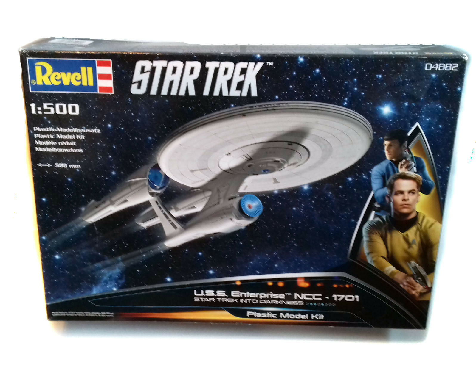 Star Trek 2 Movie Film NCC Enterprise 1701 Level 4 Revell 1 500 Model kit
