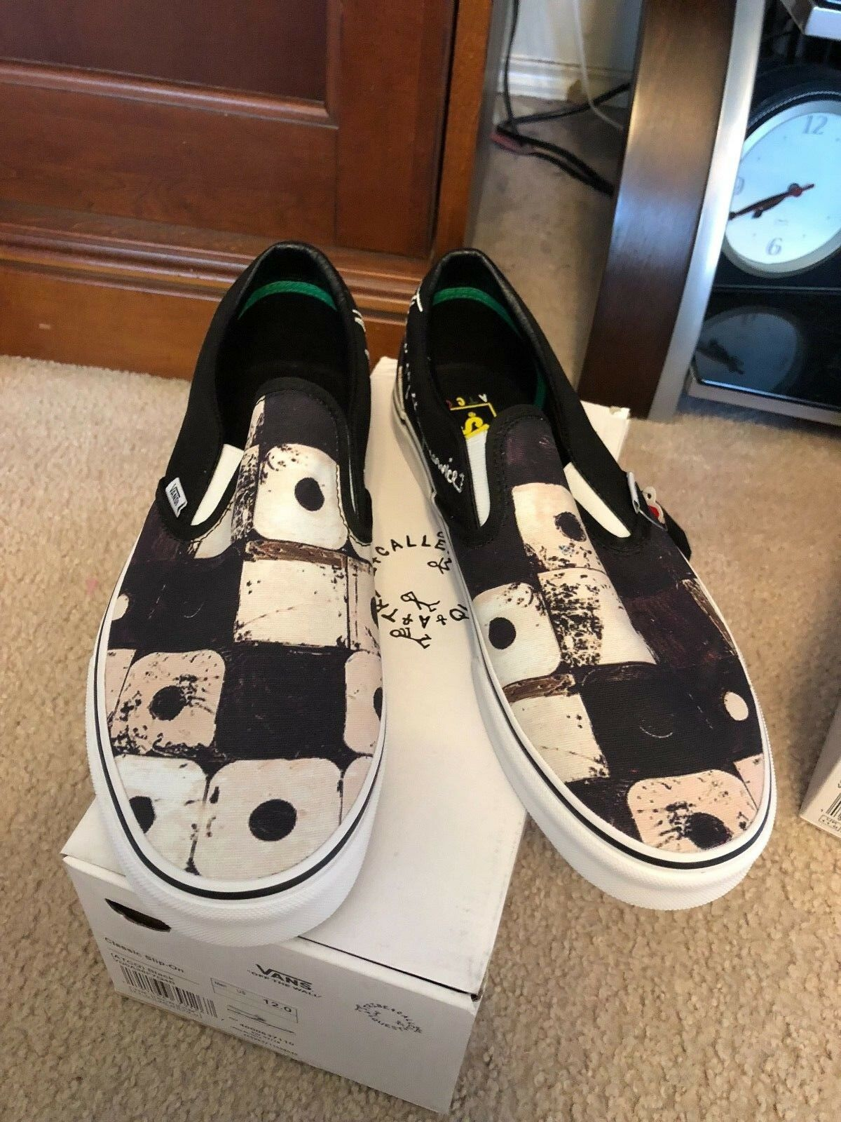 Vans x A Tribe Called Quest ATCQ Classic Slipon - Black - New In Box