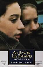 AU REVOIR LES ENFANTS Movie POSTER 27x40 B Gaspard Manesse Raphael Fejto