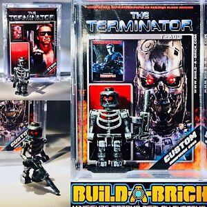 Terminator T-800 Custom Mini Action Figure w Diorama Case & Card 408