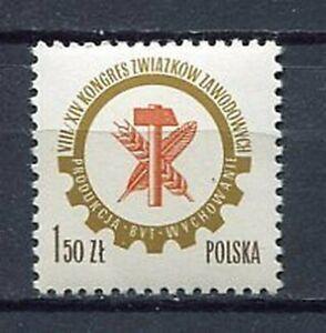 35913) Poland 1976 MNH Labour Congress 1v