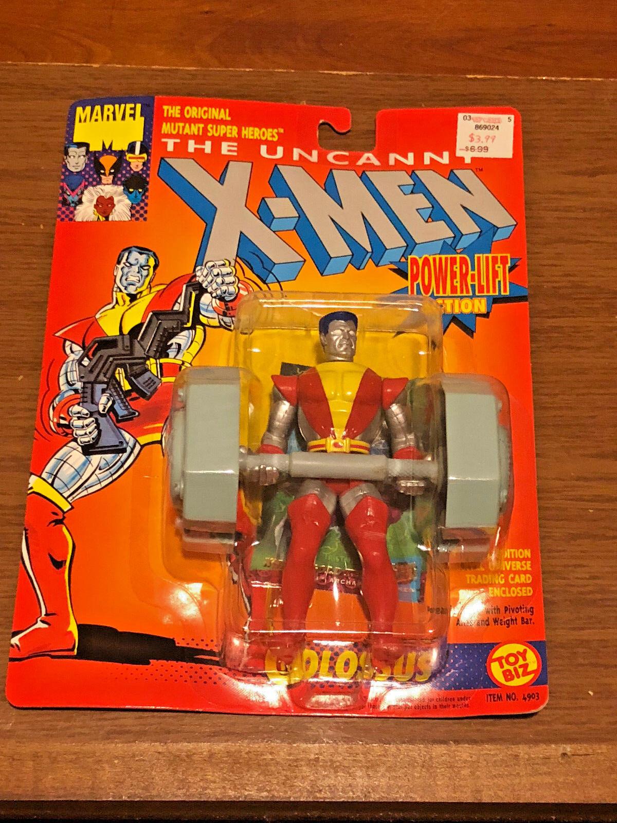 XMen COLOSSUS APOCALISSE RULLO COMPRESSORE Arcangelo 4 cifra LOTTO 4 SEALED giocattoloBIZ