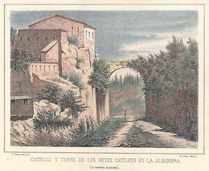 Espana-Andalucia-Granada-Castle-And-Tower-Of-Los-Kings-Catholic-IN-La-Alham