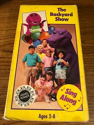 Barney The Barnyard Show VHS VCR Video Tape Movie Used ...