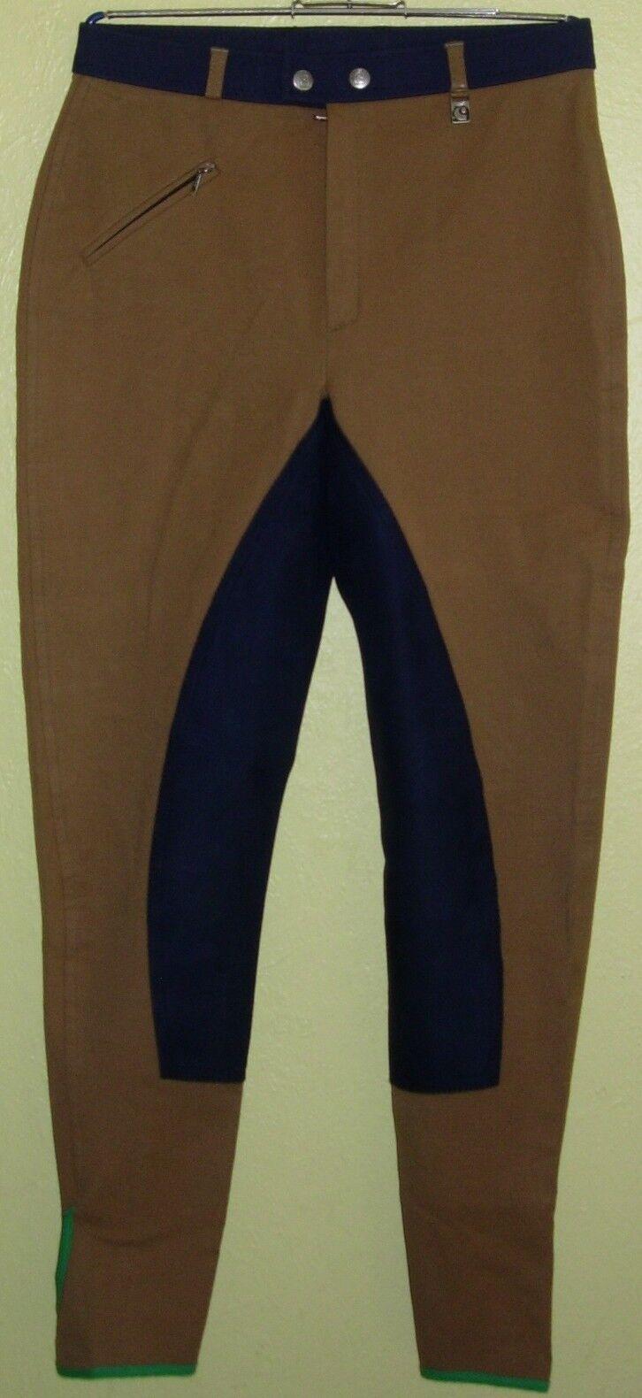 34 ) brown bluee Dame VB Reithose Gr. 182 der Firma Cavallo Neu