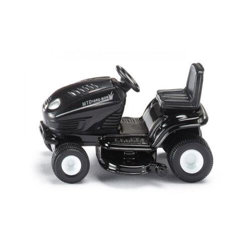 ° Modellauto NEU Siku 1312 Rasentraktor MTDyard-man schwarz Blister