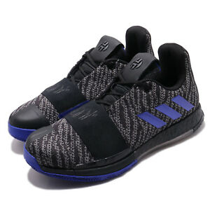 Details about adidas Harden Vol. 3 III Boost James Black Blue Men Basketball Shoes EE3957
