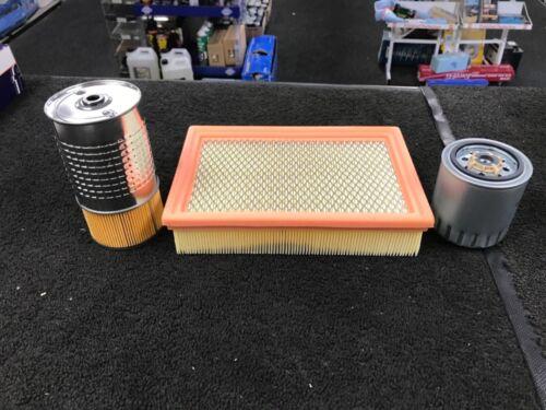 DAEWOO MUSSO KORANDO 2.9 TD huile filtre à air filtre à carburant