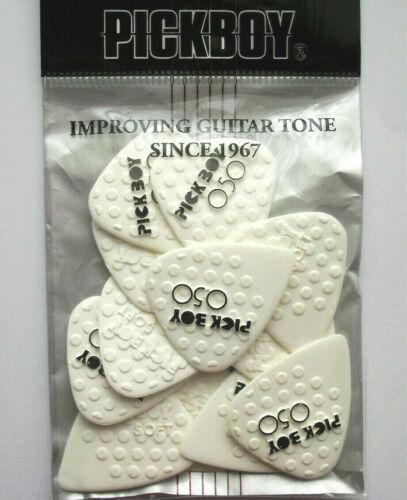 0,50 mm 12 PickBoy Mega Grip ceramic Picks Plektren