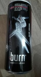 1-Energy-Drink-Dose-Coca-Cola-Coke-Burn-Rider-Full-Voll-250ml-Can-Snowboard