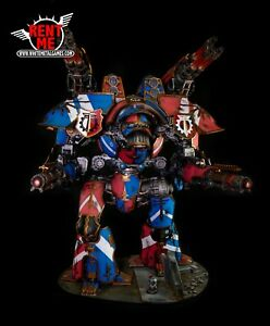 WARHAMMER-40K-Forgeworld-Warlord-Titan-Magnetized-Painted-Ready-to-Ship-w-foam