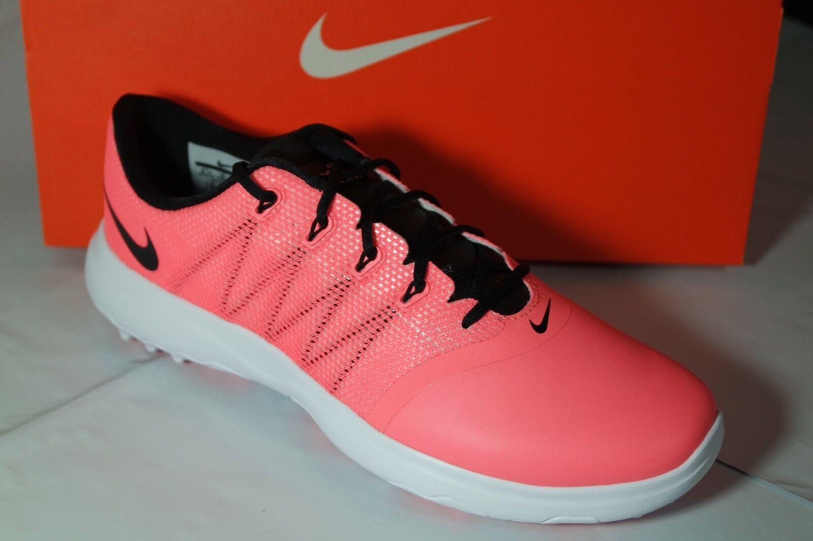 832dfe9d7119 Buy Nike Lunar Empress 2 Womens Size 9 Golf Shoes Lava Black White ...