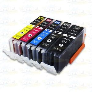 5PK PGI-280 XXL CLI-281 XXL Ink Cartridge for Canon PIXMA TR7520 TR8520 TS6120