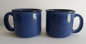 Marlboro Unlimited Blue Speckled Stoneware Coffee//Tea Mug//Cup