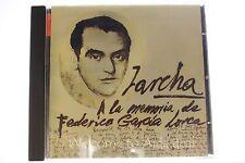 A La Memoria De Federico Garcia Lorca CD 1998 Discos Mercurio