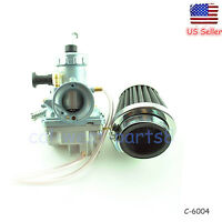 Carb/carburetor W/ Air Filter For Yamaha Rt180 Rt 180 Dirt Bike From Us Seller