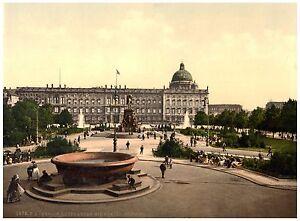 Berlin-Berliner-Schloss-ca-1890-Papier-Leinwand