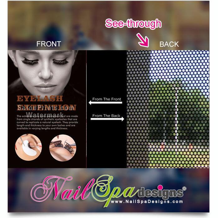 Nail Salon Mesh Vinyl - Eyelash Extensions Permanent Makeup Mesh Vinyl    P-257