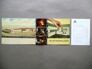 Dettagli su Catalogo Industriale SAFIM Via Stephenson Milano Cucine  Componibili 1954 Listino