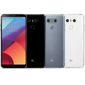 LG G6 H870DS 64GB FACTORY UNLOCKED 5 7 QHD Dual Sim Black White Platinum