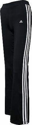 Schwarze Mädchen Sporthose von adidas YG CC Jazzpant von Gr 116 - 170