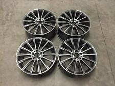 "19"" C63 Twist AMG Style Wheels - Gun Metal Machined - Mercedes E S Class 5x112"