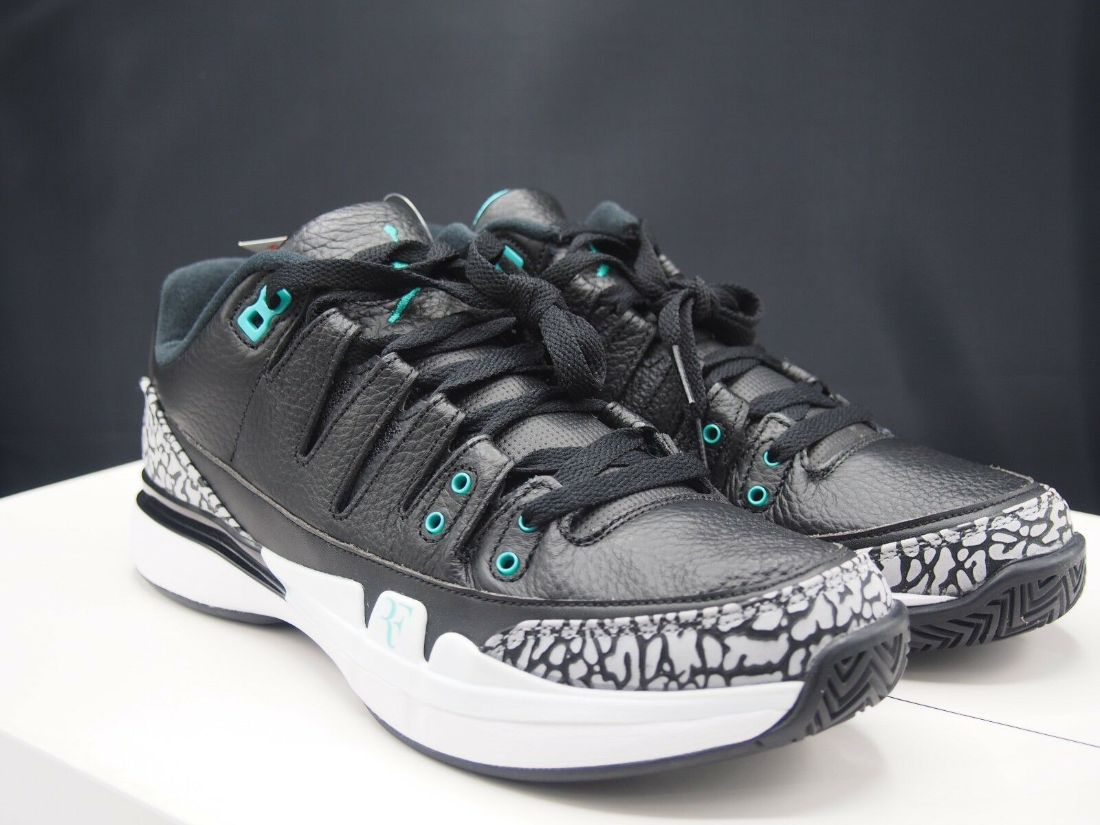 70b48909b1d9 Nike Zoom Vapor RF X Aj3 Roger Federer Air Jordan 3 Atmos Sz 8 for ...