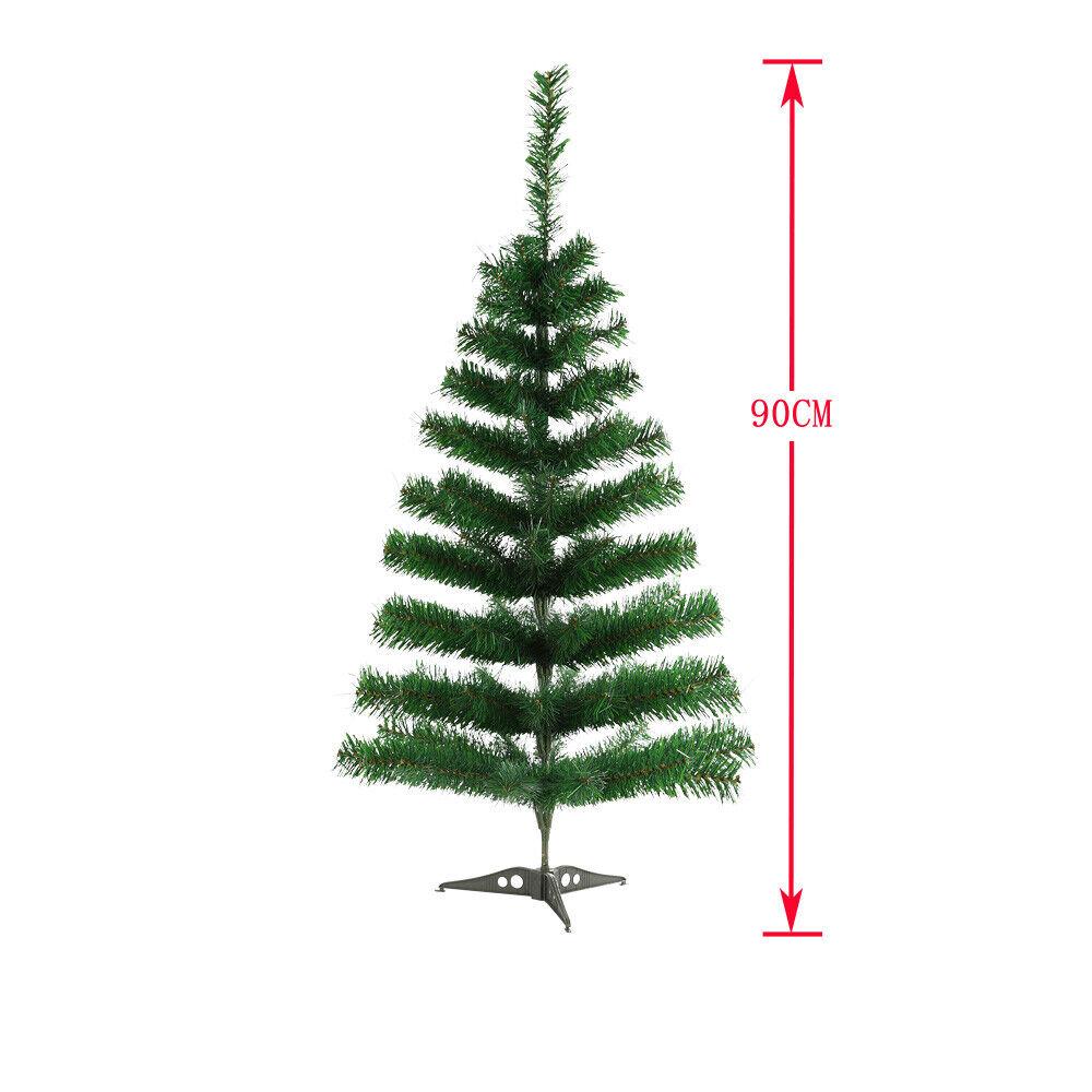 90cm Künstlicher Weihnachtsbaum Tannenbaum Tanne Christbaum Weihnachtstanne Grün