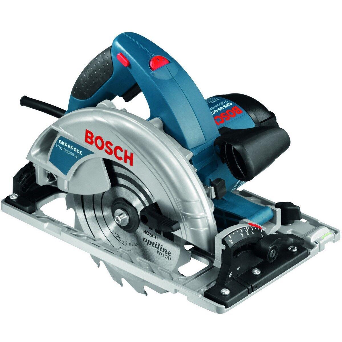 Bosch Handkreissäge GKS 65 GCE 190mm  Nr.0601668900 Säge mit Elektronik