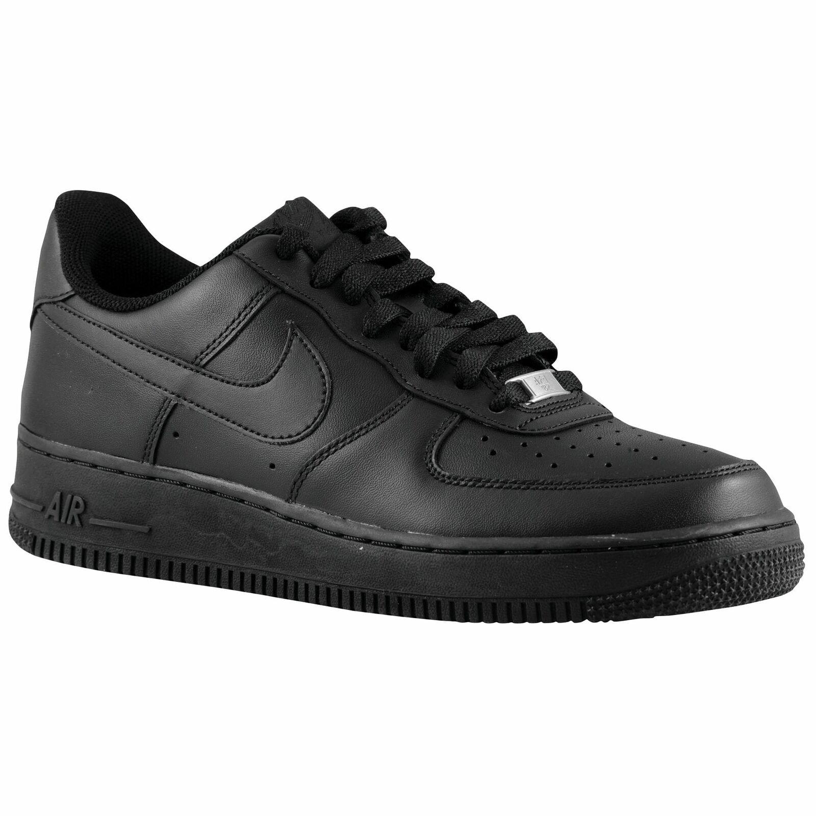Nike Air Force 1 Low Men's Black Black 15122001