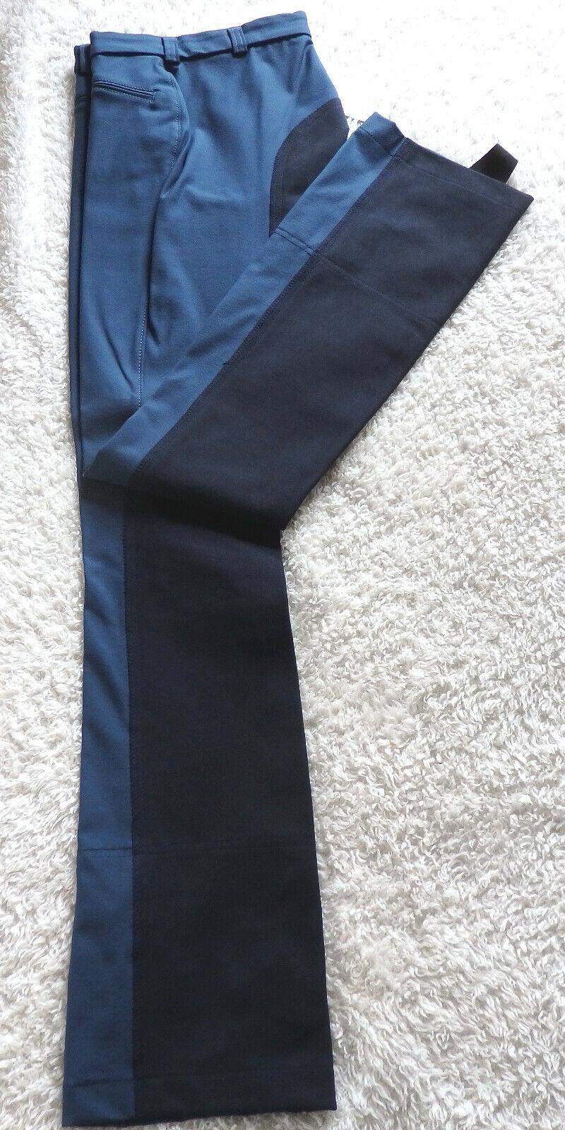 BarouxCatago Donna Jodhpur MONTALA Pantaloni, Tg. 76, guarnizione in pieno, Blu 195