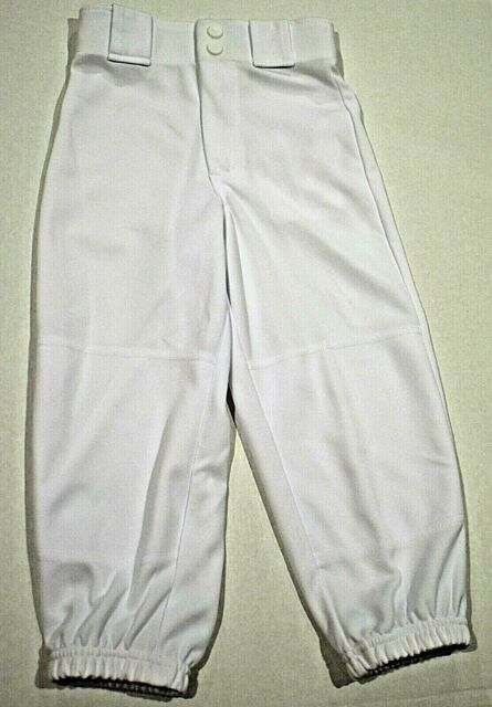 fb25f8cdb7 Rawlings Youth Classic Fit Belted Baseball Pant White Small