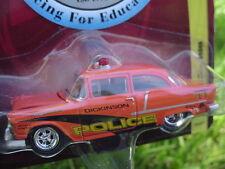 1955 Chevy Sedan Police Race for Education Beat The Heat Johnny Lightning SEALED
