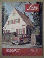 Der Deutsche Straßenverkehr 3/1961 * Mokwitsch Borgwards Ende BMW Formel Junior