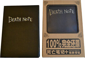 DEATH-NOTE-Anime-Note-Book-Note-Pad-Free-Gift-Light-Yagami-Ryuk-UK-Stock