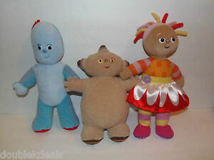 Image Is Loading Talking In The Night Garden Musical Plush Toys