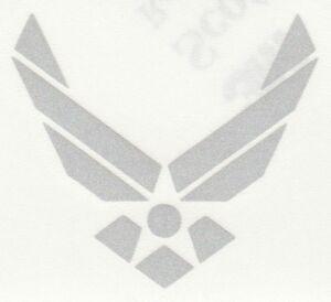 REFLECTIVE Air Force Decal Sticker fire helmet window RTIC