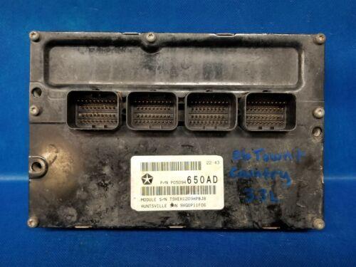 PROGRAMMED PLUG /& PLAY 06 DODGE CARAVAN 3.3 PCM ECU ECM MODULE P05094650AD 658