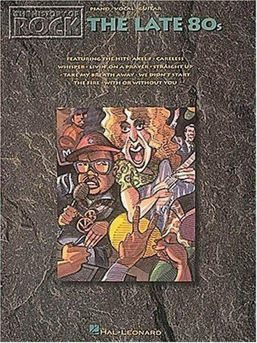 History of Rock : The Late '80s (1994, Paperback)