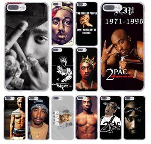 edc6a1e0f94 2Pac Tupac Shakur Hip Hop Rap Phone Case Cover iPhone XS X 8 7 6 ...