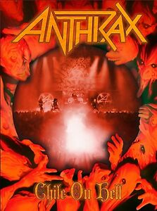 ANTHRAX-CHILE-ON-HELL-BLU-RAY-2-CD-DIGIPACK-NEUF