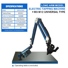 Long Arm Electric Tapping Machine Tapper 360 Degree Universal Type M3 M12