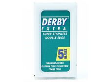 Derby Extra Super Stainless Double Edge Razor Blades - 20 Blades