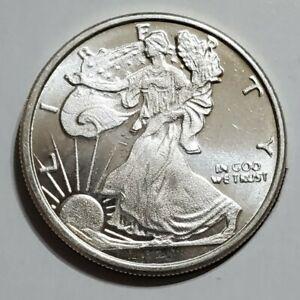 Eagle 1 Gram .999 Fine Pure Solid Silver Bar