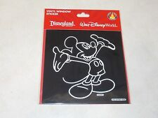 Disney Parks Mickey Mouse Vinyl Car Auto SUV Window Sticker Decal Cling (NEW)