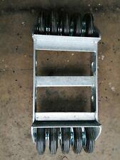 V Keel Roller Bugrolle Bugschutz Bugpuffer Page Role 180 MM Black ARBO-INOX