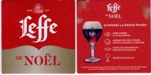 NEW-Sous-Bock-bierdeckel-bierviltje-LEFFE-DE-NOEL-2018-savourez-la-douce-epicee